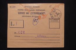 RÉUNION - Enveloppe Des PTT De Ste Clotilde Pour Colmar En 1957 - L 108974 - Lettres & Documents
