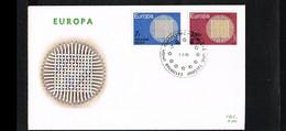 1970 - Belgium FDC - Cancel Bruxelles-Brussel - Europe CEPT [P14_902] - 1961-70