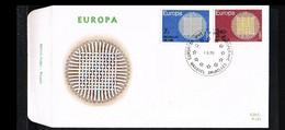 1970 - Belgium FDC - Cancel Brussel-Bruxelles - Europe CEPT [P14_901] - 1961-70