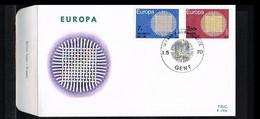 1970 - Belgium FDC - Cancel Gent - Europe CEPT [P14_904] - 1961-70