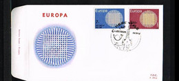 1970 - Belgium FDC - Cancel Herentals - Europe CEPT [P14_905] - 1961-70
