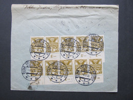 BRIEF Bahnpost Zugstempel Ceska Trebova - Prerov 1936 Nr. 607  //  C5400 - Covers & Documents