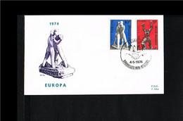 1974 - Belgium FDC - Europe CEPT [P14_551] - 1971-80