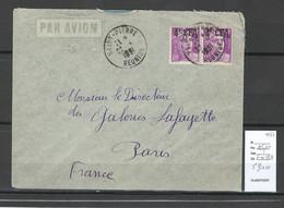 Reunion - Lettre   SAINT PIERRE  -1951 - Lettres & Documents
