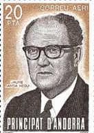 Andorra 173 ** Personajes. Jaime Sansa. 1983 - Unused Stamps