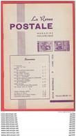 LA Revue Postale Magazine Philatélique  Bimestriel N° 88-89  En 1974 - Französisch (ab 1941)