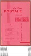 LA Revue Postale Magazine Philatélique  Bimestriel N° 90 En 1974 - Französisch (ab 1941)