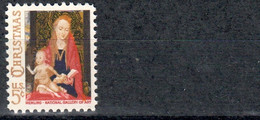 USA 815  ** MNH – Christmas Noel 1966 : Painting By Memling - Unused Stamps