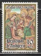 ANDORRE 221 // YVERT 129 // 1980 - Unused Stamps
