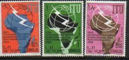 Somalia - 1965 Union Telecommunications-Fernmeldeverein  (ITU/UIT) ** - Somalië (1960-...)
