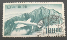 Used Stamps Japan Airmail - Douglas DC-4 Airplane And Mount Tate, With Underlined Zeros-1952, As Per Image - Used Stamps