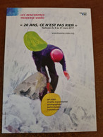 CARTE POSTALE FINE RENCONTRES TRAVERSE VIDÉO 2017 - Plakate Auf Karten