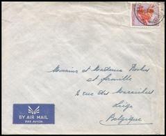 Congo - Lettre/Brief - 317 - Kinshasa - 1953 - 1947-60: Lettres