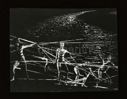 Cca 1972 Mozgás- és Mozdulatművészeti Produkció A Színpadon, 1 Db NEGATÍV, 3,3x4,4 Cm - Non Classés