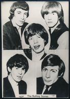 Cca 1966 Rolling Stones Együttes, Fekete György (1904-1990) Budapesti Fényképész Hagyatékából 1 Db Fotó, Amelyet A Trafi - Non Classés