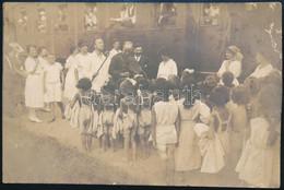 Cca 1919 Budapest, Révész és Bíró Fényképészek Pecsétjével Ellátott Vintage Fotó, 11,5x17,2 Cm - Non Classés