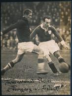 1940 Magyarország és Írország Válogatott Focicsapatának Mérkőzésén Készült Vintage Fotó, 12,5x9,3 Cm - Non Classés
