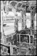 1990 Kiégett HÉV Kocsi Helyszínelő Felvételei, 37 Db 24x36 Mm-es Negatív - Non Classés