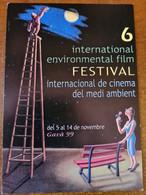 CARTE POSTALE 6ÈME INTERNATIONAL ENVIRONMENTAL FILM FESTIVAL GAVA ESPAGNE 1999 - Plakate Auf Karten