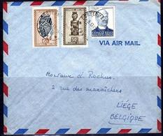 291+275 Sur Pli - CONGO - 1947-60: Lettres