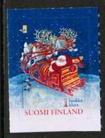 2001 Finland, Santa Claus And Reindeer Sledge MNH. - Ongebruikt