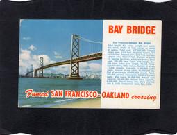 104908     Stati  Uniti,     Bay  Bridge,  Famed  San  Francisco-Oakland  Crossing,  VGSB  1961 - San Francisco