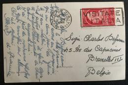 Italia Regno 1932 Da Venezia Per Bruxelles Belgio Raro (1261) - Used