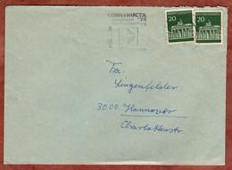 Brief, Brandenburger Tor Berlin, MS Constructa Hannover 1973 (5311) - Brieven En Documenten