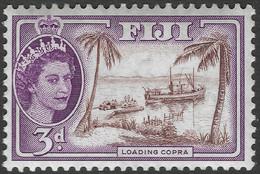 Fiji. 1954-59 QEII. 3d MH. SG 285 - Fiji (...-1970)