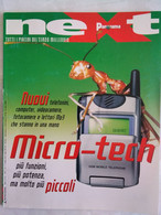 Panorama Next 28 2000 Pc Caribe Sms Playstation Portatile Microchip Robocop Mac Nano Tecnologie Hydrogen Power Cellulari - Informatica