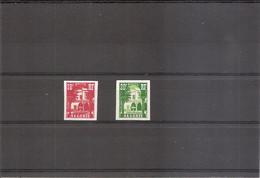 Algérie ( 340A / 341 Non Dentelés XXX -MNH) - Unused Stamps