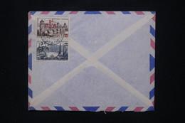 RÉUNION - Enveloppe Commerciale De Pointe Des Galets Pour Colmar En 1956, Affranchissement Au Verso - L 109003 - Covers & Documents