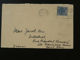 Lettre Cover Flamme Postmark Use The Telephone Irlande Ireland 1935 Ref 101502 - Covers & Documents