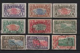 Lot 32 Réunion Timbres De 1907 - Usados