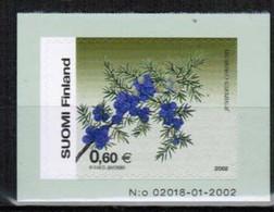 2002 Finland, 0,60 Juniper MNH. - Ongebruikt
