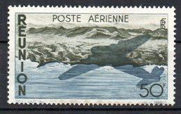 Col10    Réunion PA  N° 42 Neuf X MH  Cote : 9,50 Euro Cote 2015 - Airmail