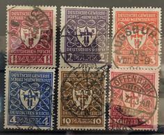 Duitse Rijk Zegel Nrs 199 - 204 Used - Oblitérés