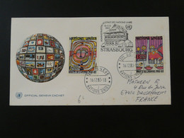 FDC Human Rights Hundertwasser Nations Unies United Nations Ref 101517 - FDC