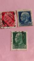 ITALIE - ITALY - 3 Timbres De 1929 : Portrait Du Roi Victor-Emmanuel III (Vittorio Emanuele III) - Used