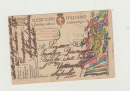 FRANCHIGIA POSTA MILITARE 78 A DEL 1919 DA DALMAZIA VERSO ITALIA WW1 - Franchise
