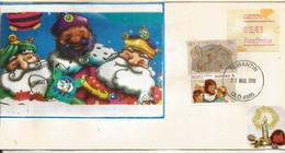 Australie.  Santa Claus. Père Noël . Noël Australien, Lettre Queensland - Andere