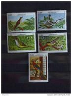 Cuba 1978 Oiseaux De Cuba Yv 2046-2048 + LP PA 276-277  MNH ** - Unused Stamps