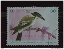 Cuba 1990 Oiseau Vogel Expo Philatélique Yv 3048 O - Used Stamps
