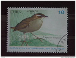 Cuba 1990 Oiseau Vogel Expo Philatélique Yv 3047 O - Used Stamps