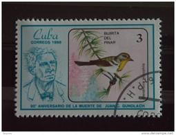 Cuba 1986 Juan C. Gundlach Ornithologue Oiseau Yv 2675 O - Used Stamps