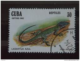 Cuba 1982 Hagedis Lézard  Yv. 2373 O - Used Stamps
