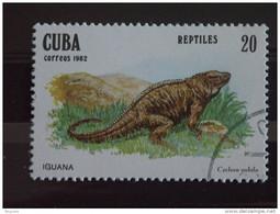 Cuba 1982 Iguana Yv. 2372 O - Used Stamps