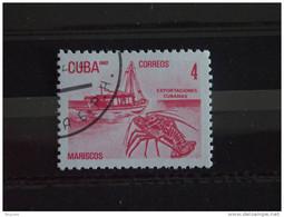 Cuba 1982 Kreeft Visvangst Schip, Langouste Pêche Bateau, Lobster Fishing Boot Yv. 2337 O - Used Stamps