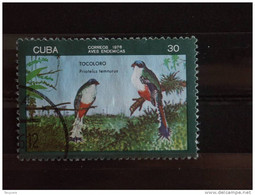 Cuba 1976 Oiseau Vogel Yv 1943 O - Used Stamps