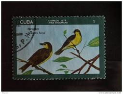 Cuba 1976 Oiseau Vogel Yv 1938 O - Used Stamps
